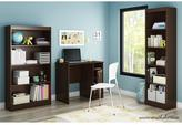 South Shore Freeport Small Work Desk in Chocolate