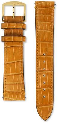 Gucci Grip alligator watch strap, 38mm