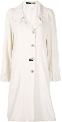 Chanel Pre Owned 1999s Duster Coat