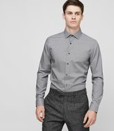 Reiss St Louis - Geometric Print Shirt in White, Mens