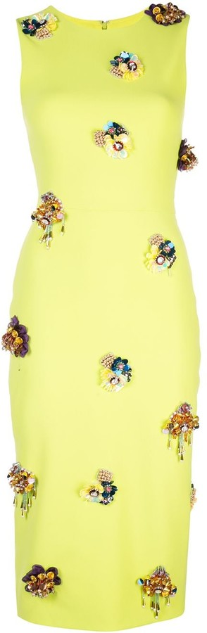 Christian Siriano Embellished Details Dress