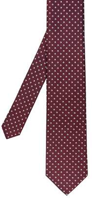 Ted Baker Cheque Spotted Silk Tie