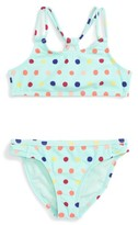 Roxy Toddler Girl's Rainbow Two-Piece Swimsuit