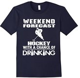 Men's Weekend Forecast Hockey With A Chane Of Drinking Large