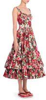 Dolce & Gabbana Floral Corset Dress