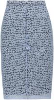 Nina Ricci Stretch-corded lace skirt