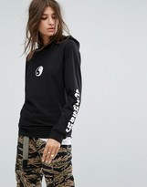 Stussy Lightweight Hoodie With Yin Yang Print