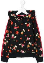 Dolce & Gabbana ladybug print zipped hoodie