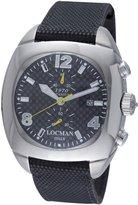 Locman Men's 1974CRBQ 1970 Collection Steel/Titanium Watch