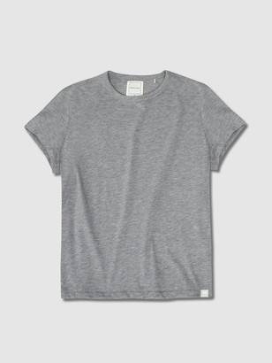 Jason Scott Shrunken Tee - Heather Grey
