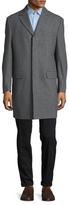 """Hart Schaffner Marx Maitland 36"""" Fly Front Top Coat"""