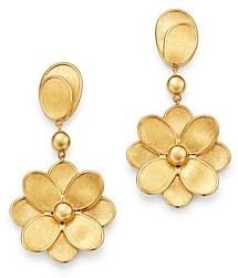 Marco Bicego 18K Yellow Gold Petali Flower Drop Earrings - 100% Exclusive
