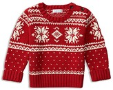 Ralph Lauren Infant Boys' Snowflake Sweater - Sizes 3-24 Months