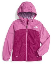 The North Face 'Warm Storm' Hooded Waterproof Jacket (Big Girls)