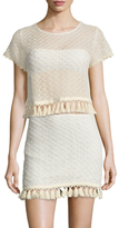 Anine Bing Crochet Cotton Top