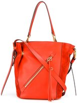 Chloé Myer tote bag - women - Calf Leather/Leather/Suede - One Size