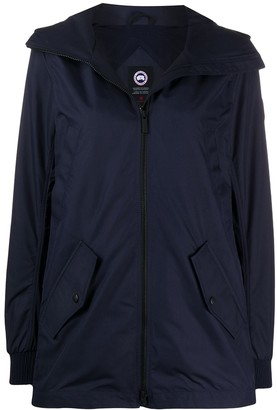 Canada Goose Flap-Pocket Hooded Lightweight Coat