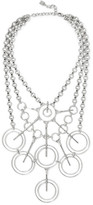 Dannijo Aquila Oxidized Silver-plated Necklace - one size