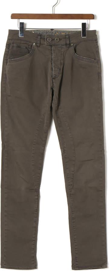 Gas Jeans (ガス) - GAS NAIR 5ポケット ウォッシュ加工 デニム ダークグレー 29