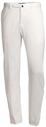 Incotex Linen-Blend Pintuck Trousers
