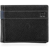 Haggar Men's Pebbled Passcase Wallet