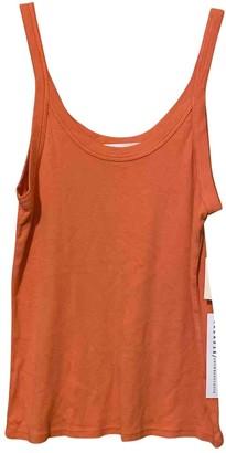 Anthropologie \N Orange Cotton Top for Women