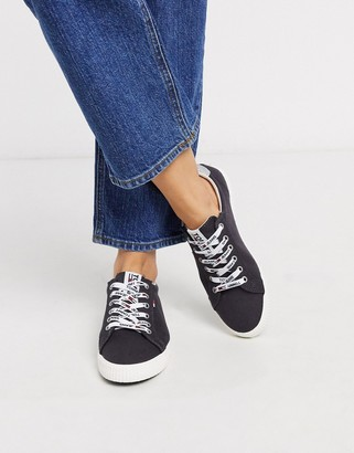 Tommy Hilfiger Tommy Jeans casual lace up sneakers in navy