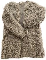 Hoss Intropia Grey Wool Coat for Women