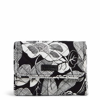 Vera Bradley Signature Cotton Riley Compact Wallet with RFID Protection