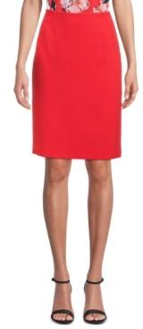 Kasper Petite Stretch Slim-Fit Skirt