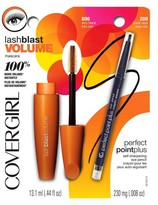 Cover Girl LashBlast Volume Mascara & Perfect Point Plus Eyeliner Value Pack