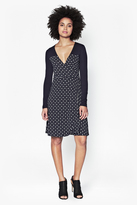 French Connection Modern Mosaic Wrap Dress