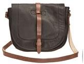 Will Leather Goods 'Seneca' Leather Crossbody Bag - Black