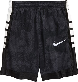 Nike Kids' Elite Energy Camo Logo Mesh Shorts