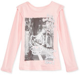 Hello Kitty Layered-Look Graphic-Print T-Shirt, Toddler & Little Girls (2T-6X)