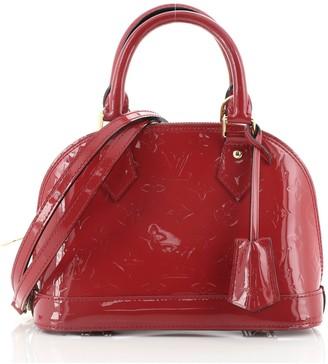 Louis Vuitton Alma Handbag Monogram Vernis BB