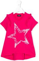 Diesel star print T-shirt - kids - Cotton - 8 yrs
