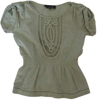 Isabel Marant Green Silk Tops