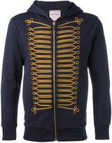 Palm Angels embellished zip hoodie