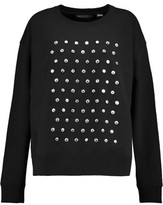 Marc by Marc Jacobs + Disney Embellished Cotton-Jersey Sweatshirt
