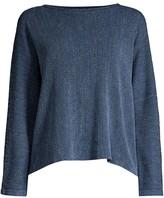 Eileen Fisher Oversized Drop-Shoulder Sweater