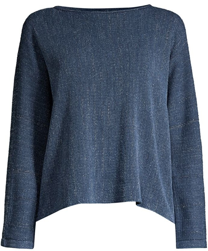 Eileen Fisher Oversized Drop-Shoulder Sweater
