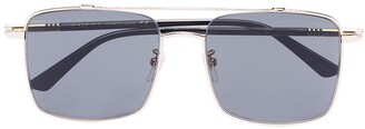 Gucci Square Frame Tinted Sunglasses