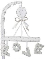Just Born Ruffled Medallions Love Musical Mobile by