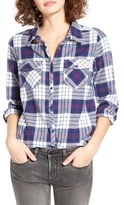 Roxy Women's Squary Cool Plaid Flannel Shirt