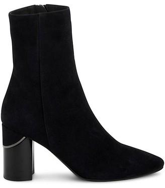 Aquatalia Phila Suede Ankle Boots