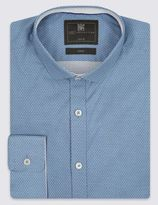 Marks and Spencer Tailored Fit Easy to Iron Shirt