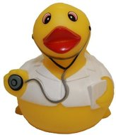 Rubber Ducks Family Dr. Rubber Duck, Waddlers Brand Toy Bathtub Rubber Ducks That Squeak, Health & Personal Care Rubber Ducky Gift Birthday Med School Medical Dr.& Dr.care