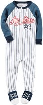"Carter's Baby Boys' ""All-Star Sleeper"" Footed Pajamas"