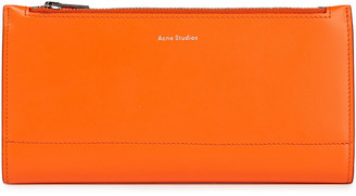 Acne Studios Bifold Leather Continental Wallet